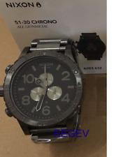 Genuine Nixon Watch 51-30 Chrono Men's A083-632 51MM New Dial A083632 Gunmetal