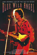 Jimi Hendrix - Blue Wild Angel (2002) original movie poster - s-sided - rolled