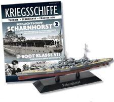 DeAgostini 1:1250 German Scharnhorst Class Battleship - DKM Scharnhorst, #DAKS02