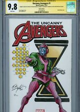 KANG Sketch cover art by BOB LAYTON CGC SS 9.8 Marvel Avengers LOKI Disney+