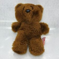 "Dakin Plush Pooky Teddy Bear Brown Small Stuffed Animal 1983 Vintage 5.5"""