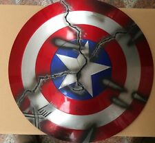 CATTOYS 1:1 The Avengers Captain America ABS Shield V2.0 [Extremely Damaged Ver]