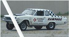 "1960s NHRA Drag Racing-NHRA-1964 A/FX 426 HEMI Dodge Dart ""RAMPAGE"""