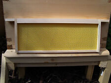 10 SN1 Beehive Frames with Wired Foundation, Assembled