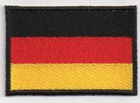 Ricamate Blomberg bandiera bandiera aufbügler Patch 9 x 6 cm
