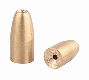 DAM Effzett Bullet Weights Texas/Carolina Bullet Sinkers 10 gramm KUPFER