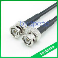 6feet BNC male plug to BNC male plug RG58 RF Pigtail Coaxial Jumper Cable 200cm