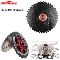 Sunrace 8 9 10 11Speed Road MTB Bike Cassette fit Shimano SRAM Cycling Freewheel