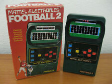FOOTBALL 2 by Mattel Electronics HANDHELD GAME 1978 Complete CIB Works Great!
