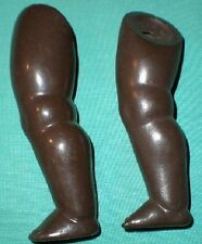 Celluloïd jambes Turtle-Mark for dark Coloured doll 26/27
