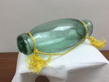 Vintage Japanese Glass Rare Hokkaido? Roller Float