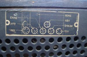 Vintage Radio Philips 522a 1934