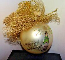 SEASONS GREETINGS Natalie Sarabella Swarovaski FrontGate Ornament New in Box