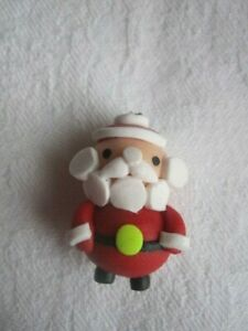 Christmas Polymer Clay Charms/Beads - Pack of 2