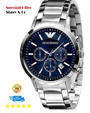 New Emporio Armani Men's Chronograph Classic Watch AR2448 100% Original