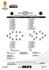 Teamsheet - Everton v BSC Young Boys 2014/15 (26 Feb) UEFA Europa League