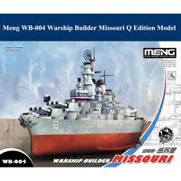 Meng WB-004 Warship Builder Missouri Q Edition Assembly Model