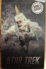 "RARE ""Regular"" Mugato Star Trek Aliens Card Dave & Busters"