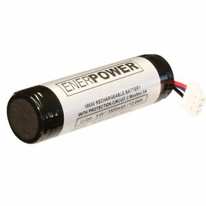 Enerpower Li-Ion 3,6V Ersatzakku Akku für Petzl Nao & Petzl Nao+ 3450 mAh 18650