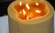 Huge Pillar Candle 100% Beeswax Candle Very Big Light