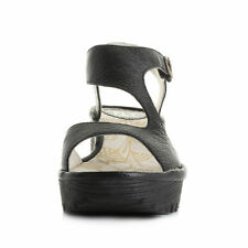 Wedge Leather Casual Mary Janes Heels for Women