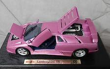 MAISTO 1994 95 LAMBORGHINI DIABLO SE PURPLE SPECIAL 1/18 SCALE DIECAST NIB MIB