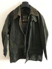 Mens Barbour Beaufort wax jacket Dark Blue coat 38 in size Small / Medium S/M #8