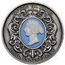 2019 QUEEN VICTORIA 200TH ANNIVERSARY 2oz $2 SILVER Antiqued Cameo COIN
