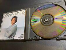 Johnny Mathis The Best Of 1975-1980 CD Japan CSR (West Germany Target Era)