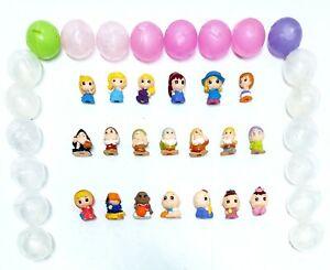Squinkies Mini Figures Disney The Seven Dwarfs Red Riding Hood Babies + Bubbles