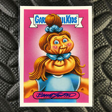 GARBAGE PAIL KIDS WE HATE THE 90s AUTOGRAPH CARD SCRUNCHED SCARLETT CHARI 06/25