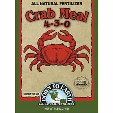 Down To Earth Crab Meal Fertilizer, 5 lb., New, Free Shipping
