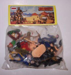 Davy Crockett Soldiers & Indians Playset Comansi El Heroe Del Alamo 60's