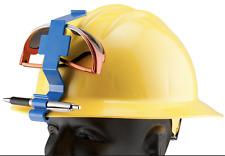 Glove Guard Goggle Guard Clip keeps goggles secure to hard hat BLUE color 1 ea