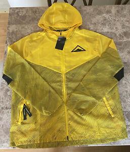 Nike Trail Windrunner Lightweight Packable Windbreaker Running Jacket Mens XL