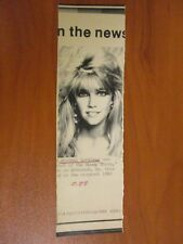 Vtg AP Wire Press Photo Actress Heather Locklear Return of the Swamp Thing 1988