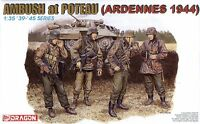 Dragon 1/35 6091 WWII German Ambush at Poteau (Ardennes 1944) (4 Figures)