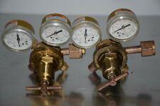 Victor Sr253b Compressed Gas Regulator Cga 320 Lot Of 2