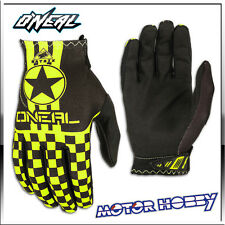 GUANTO GLOVE CROSS ENDURO QUAD O'NEAL ONEAL MATRIX WINGMAN NERO GIALLO FLUO TG L