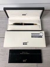 Montblanc Kugelschreiber Meisterstück + Personalisation Voucher