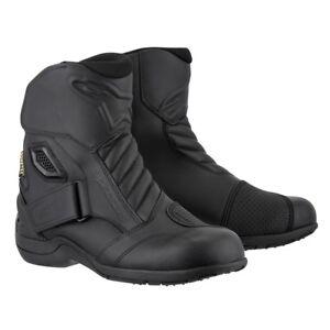 5% OFF Alpinestars Newland Gore-Tex Waterproof Black Motorbike Touring Boots