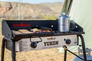 Camp Chef Yukon 2 Gas Burner Stove Outdoor Camping Family Picnic BBQ Birthday
