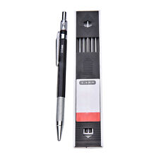2mm 2B Lead Holder Automatic Mechanical Drawing Drafting Pencil12 Leads Refill~P