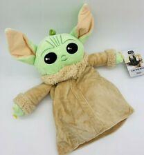 Disney Star Wars Baby Yoda 1L Wärmeflasche Mandalorian Wärm Bett Flasche Plüsch