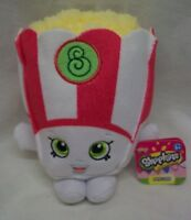 "Shopkins SOFT POPPY CORN POPCORN 5"" Plush STUFFED ANIMAL Toy NEW w/ TAG"