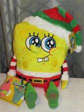 "Macys Exclusive 2014 Holiday Talking 15"" SPONGEBOB SQUAREPANTS Plush New"
