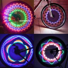 32 LED Colorful Bicycle Bike Wheel Tyre Spoke Signal Light Flashing Tire Lamp