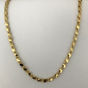 Goldkette|Altin Zincir|4mm|65cm|Kolye|Altin Kaplama| Vergoldet|Neu