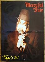 ⭐⭐⭐⭐ Mercyful Fate ⭐⭐⭐⭐ Vicious Rumors ⭐⭐⭐⭐1 Poster  ⭐⭐⭐⭐ 29,5 cm x 42 cm ⭐⭐⭐⭐⭐