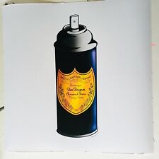 LUXURY CHAMPAGNE SPRAY CAN MR CLEVER ART pop luxury art print france street art